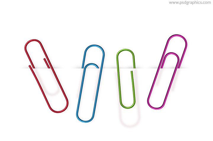 Paper clips PSD