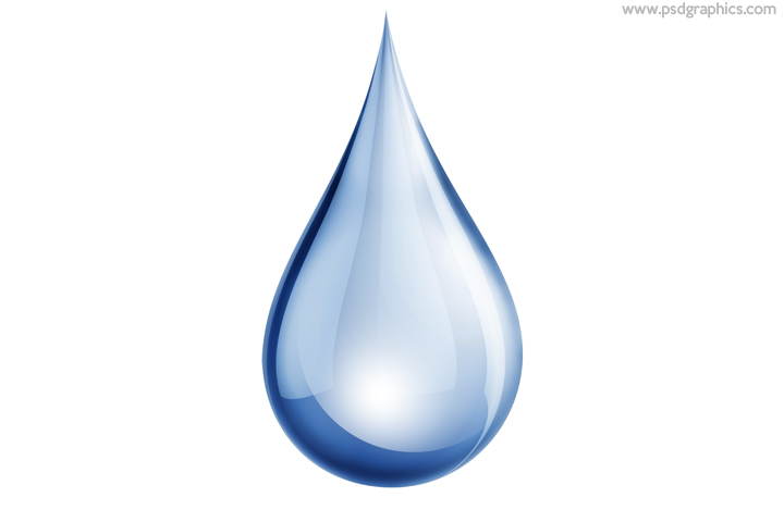 Water drop PSD