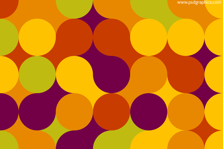 Fresh spring colors pattern