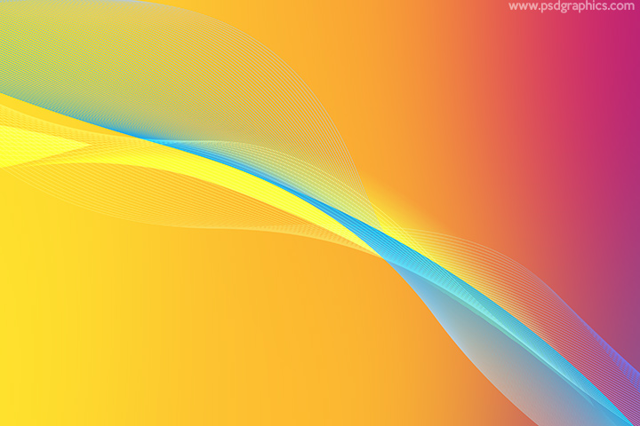 Summer waves background