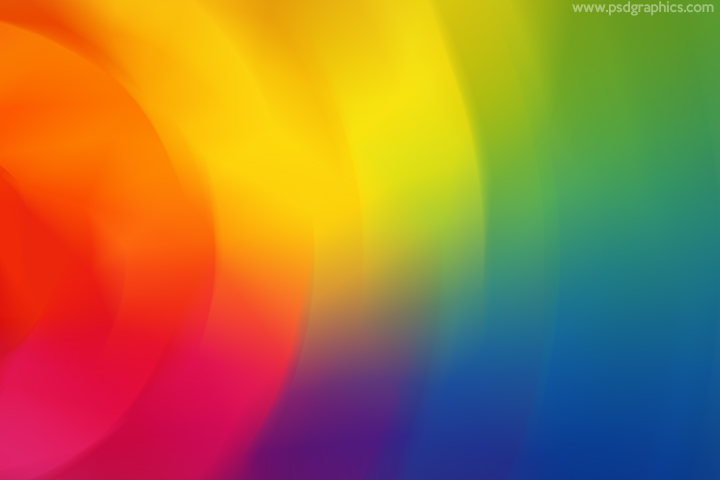 Rainbow colors motion