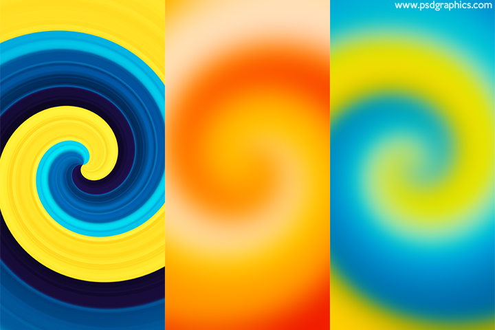 Abstract twirl backgrounds