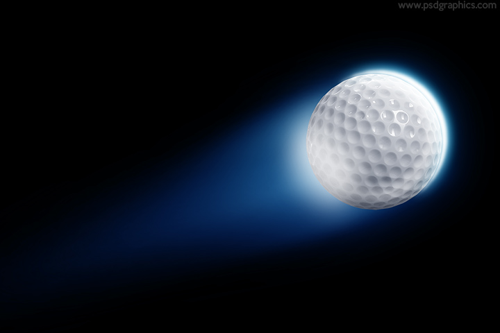 Golf ball PSD