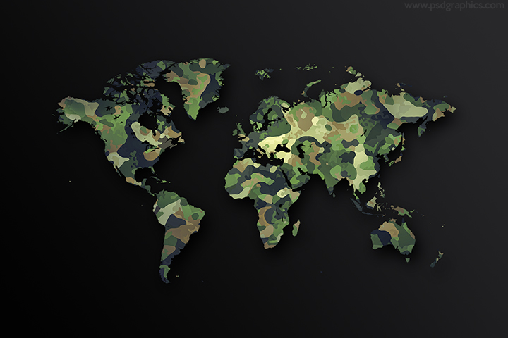 Army world map