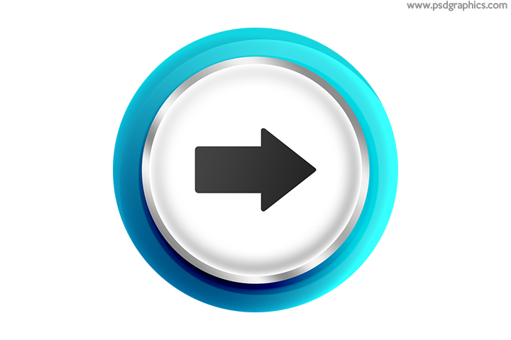 Arrows buttons PSD