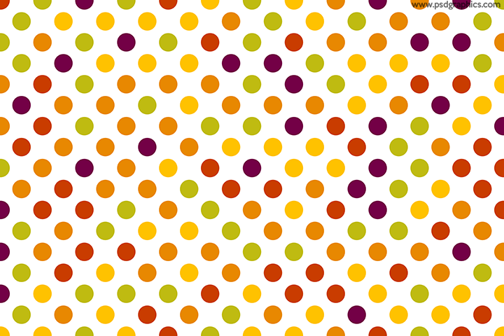 Dotted fruits pattern