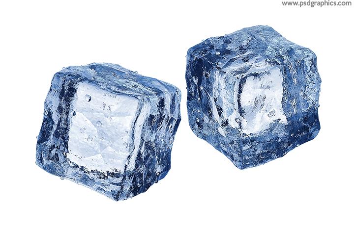 Ice cubes PSD