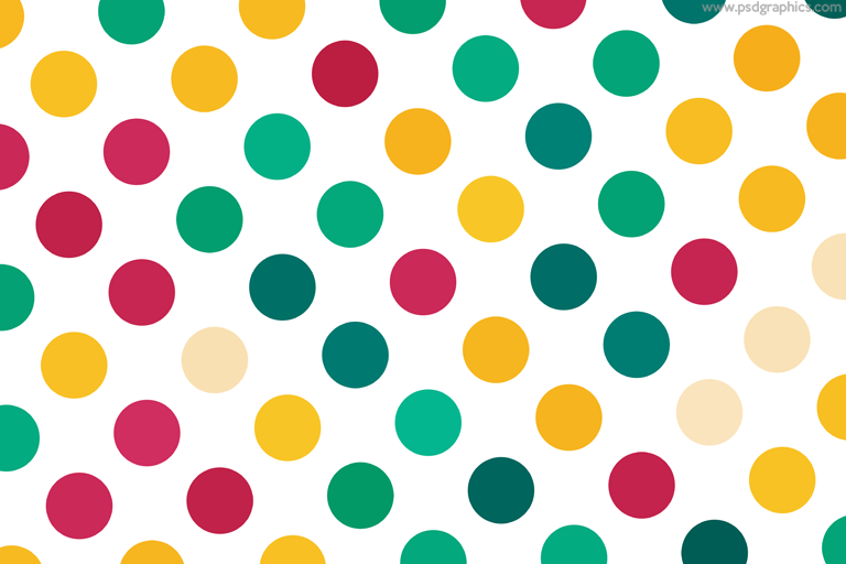 Spring colors dots