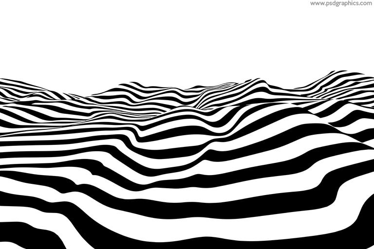 Zebra wave