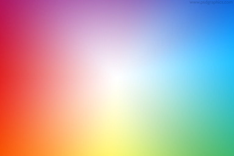 Rainbow colors PSD