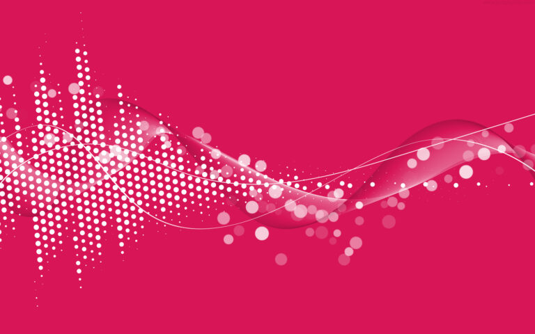 Abstract pink multimedia background in layered PSD format